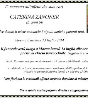 Caterina Zanoner