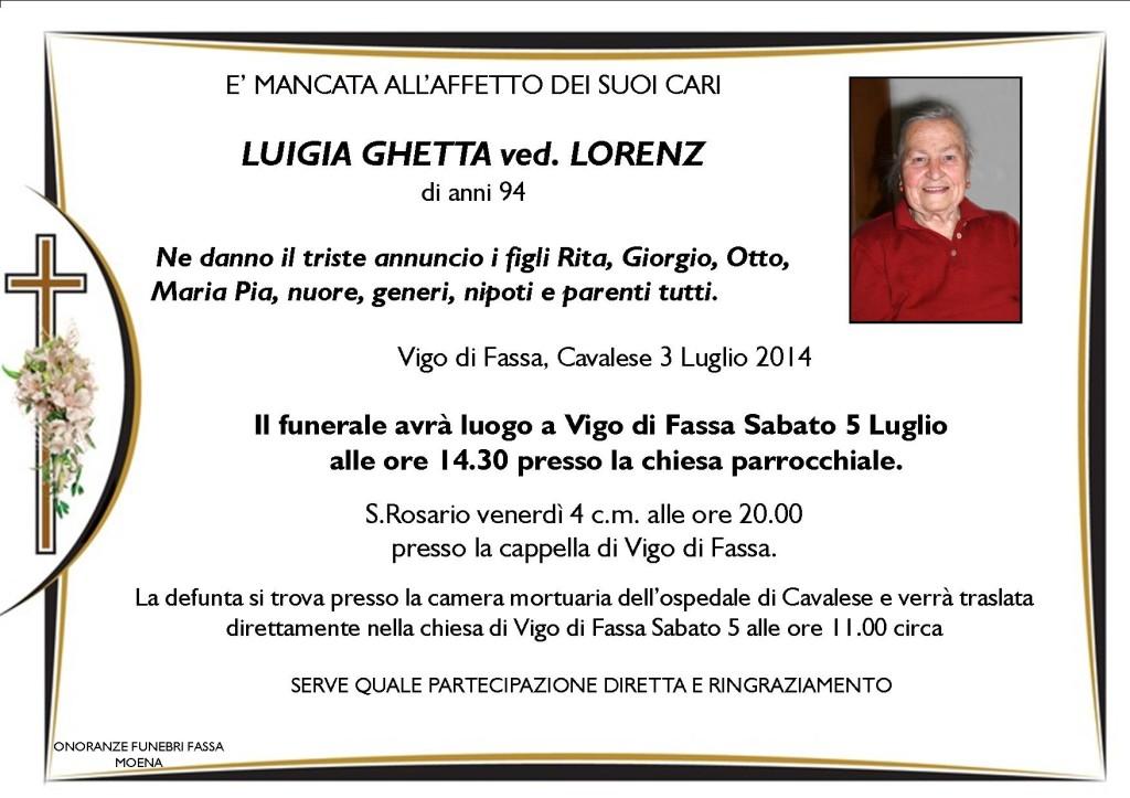 Luigia Ghetta