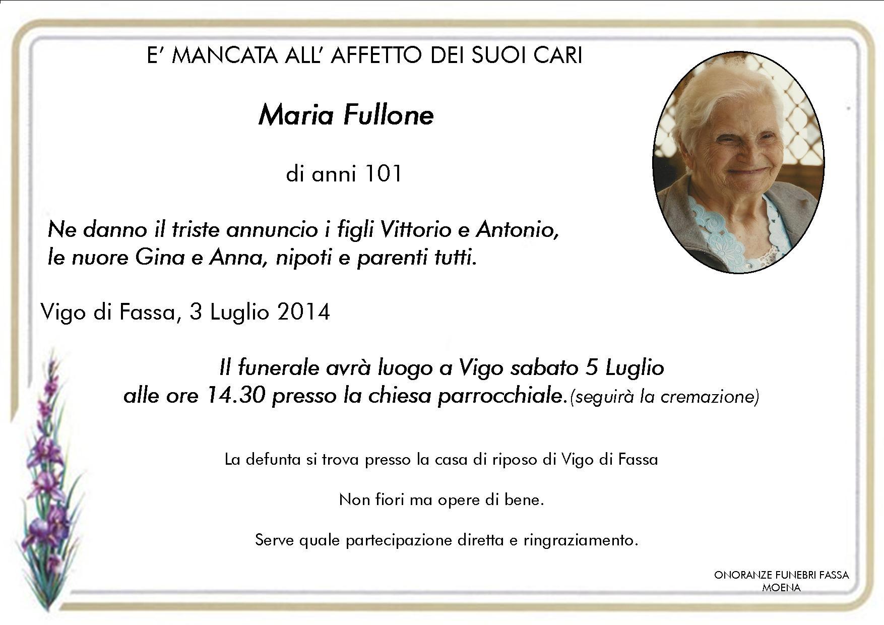 Maria Fullone