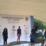 Nicole Gabrielli Oro nel Tiro a Segno ai Campionati Juniores di Roma valle di fassa2