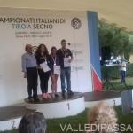 Nicole Gabrielli Oro nel Tiro a Segno ai Campionati Juniores di Roma valle di fassa7