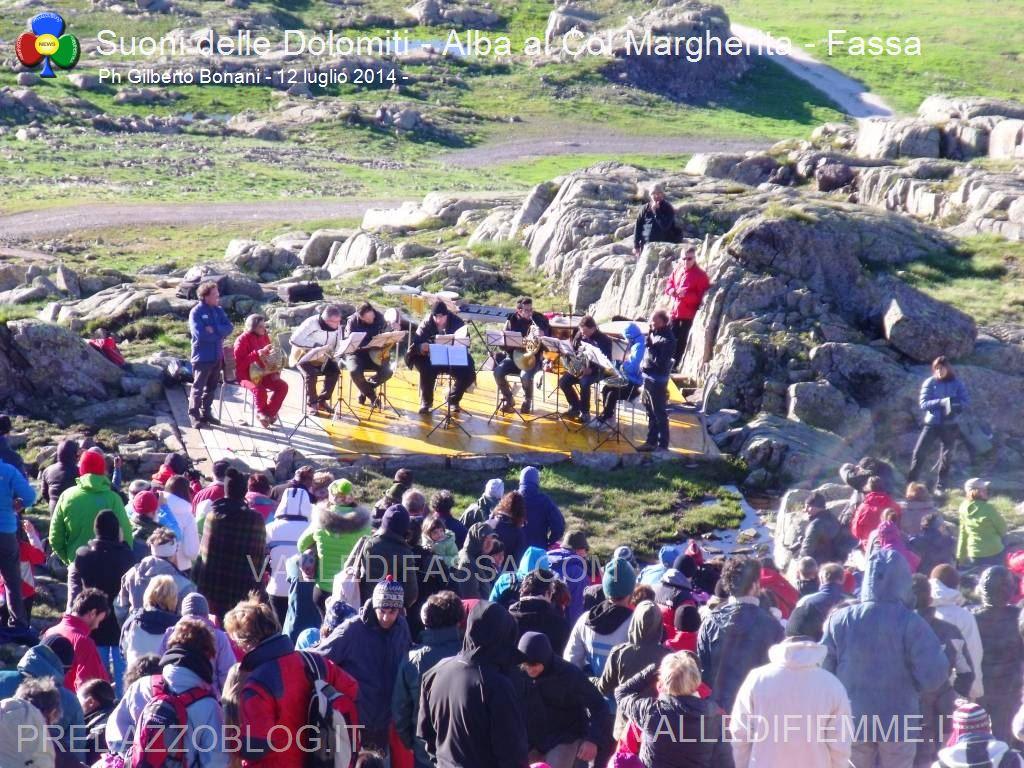 Suoni delle Dolomiti 2014 col margherita, valle di fassa2