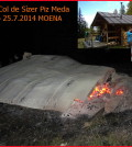 incendio Bait de Col de Sìzer moena
