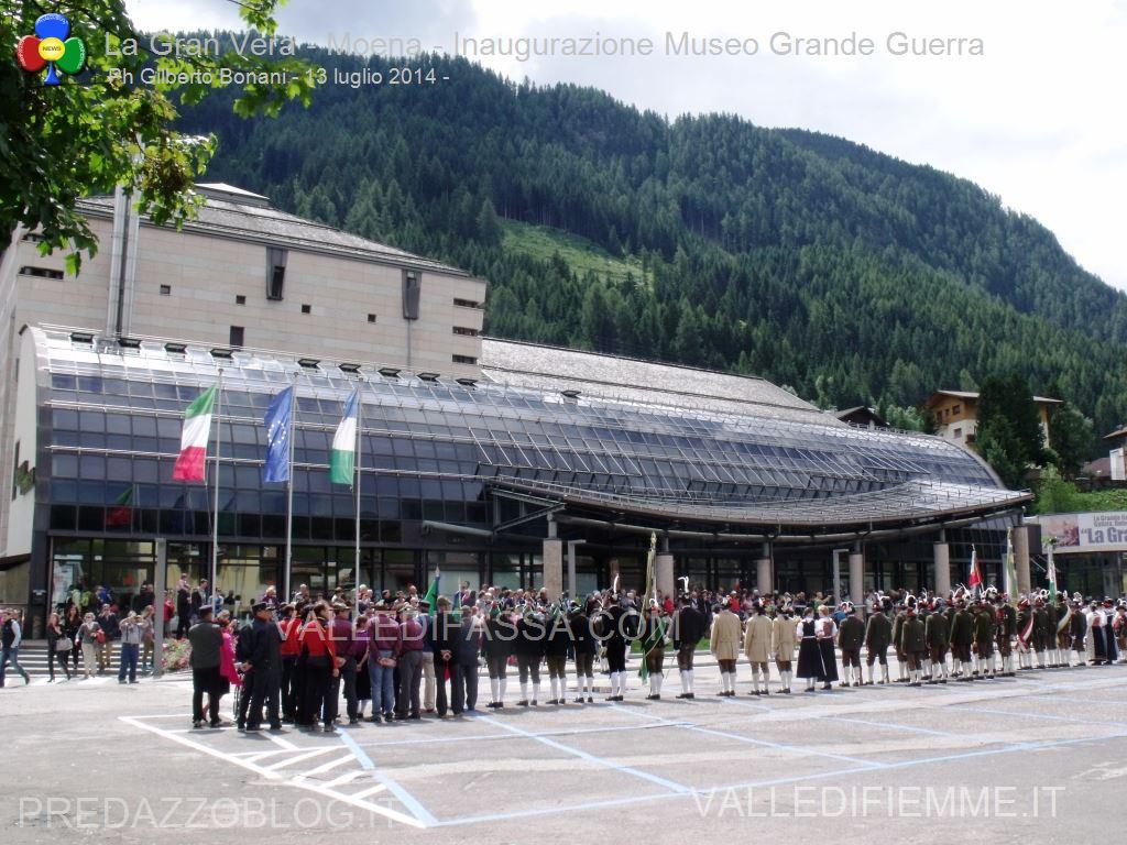 la gran vera moena inaugurazione museo grande guerra 13.7.2014 fassa9