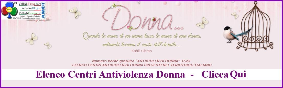 elenco centri antiviolenza donne italia