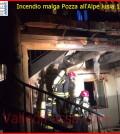 incendio malga pozza lusia 16.8.2014