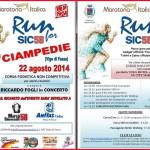 Run for Sic al Ciampediè con Riccardo Fogli in Concerto