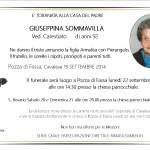 Pozza di Fassa, necrologio Giuseppina Sommavilla