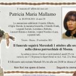 Moena, necrologi Maddalena Felicetti e Patricia Maria Mallamo