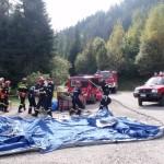 Esercitazione di protezione civile a Moena