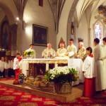 Festeggiati gli 850 anni della chiesa di Moena – Le Foto