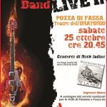 Concerto live di rock ladino per la lotta ai tumori