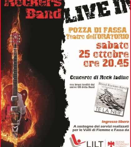 concerto rock ladino pozza fassa