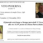 Necrologi, Francesca D'Aisda e Vito Pederiva