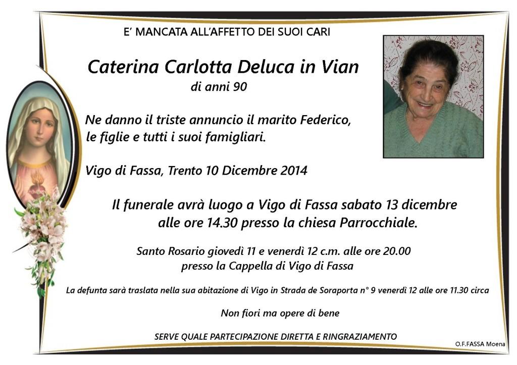 Caterina Carlotta Deluca in Vian