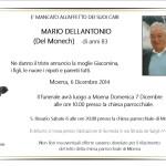 Necrologi, Mario Dellantonio (del Monech) – Agnese Lorenz