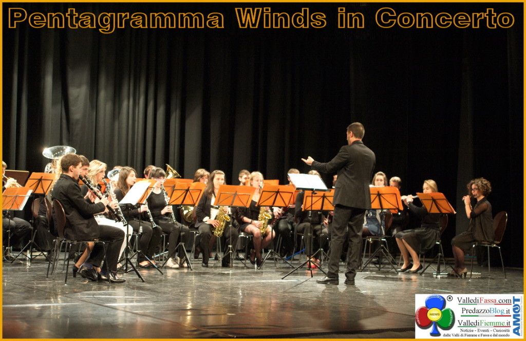 pentagramma winds in concerto fiemme fassa