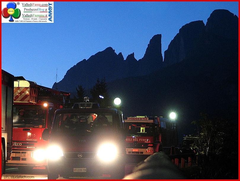 pompieri fassa notte 1