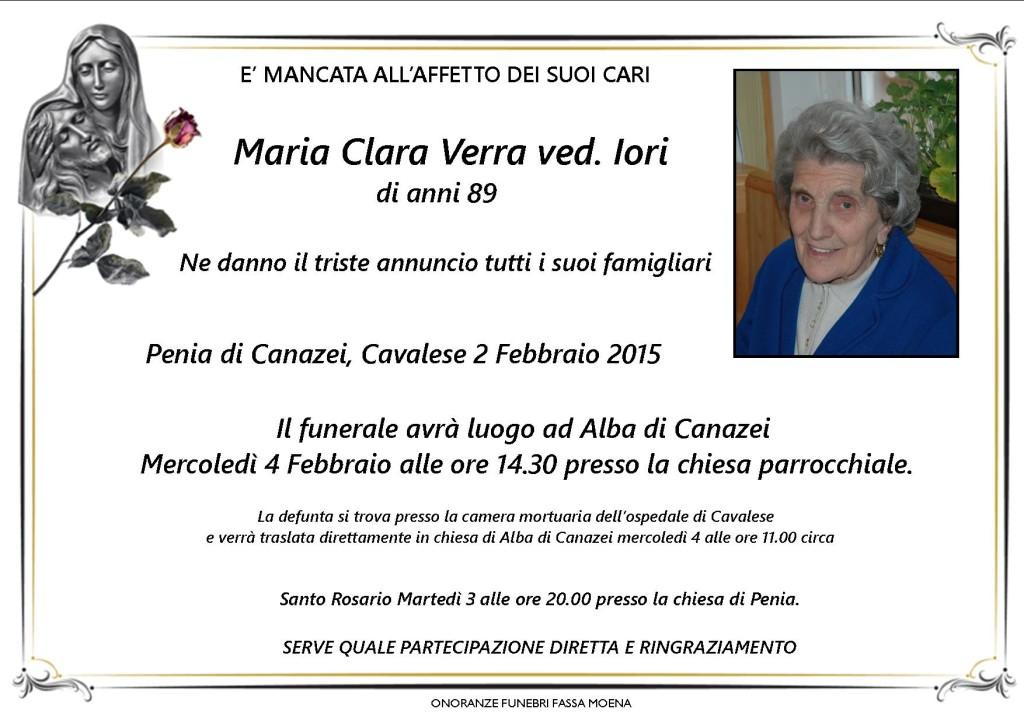 Maria Clara Verra ved. Iori