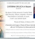 Caterina Deluca in Rasom