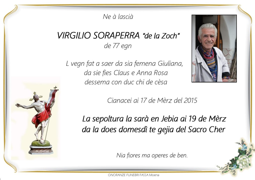 Virgilio Soraperra