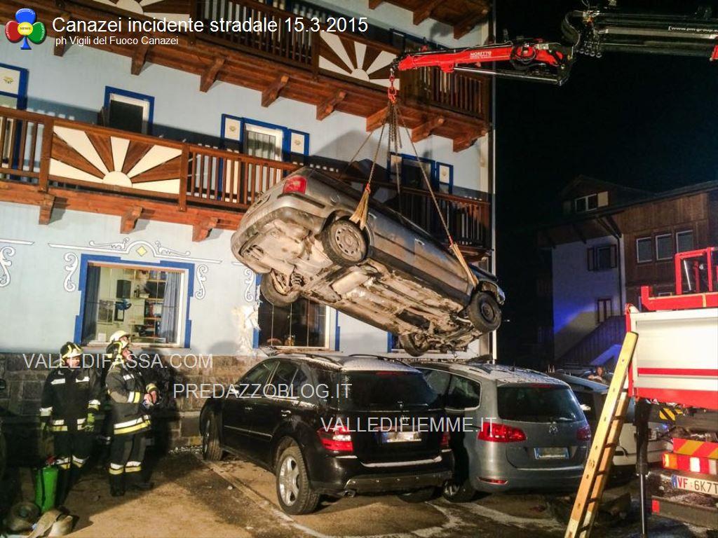canazei incidente stradale 14 marzo 2015 fassa1