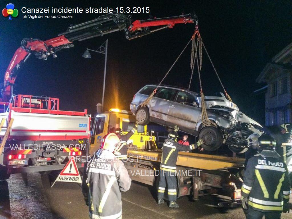 canazei incidente stradale 14 marzo 2015 fassa2