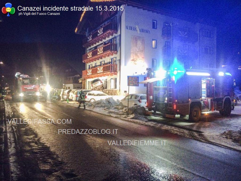 canazei incidente stradale 14 marzo 2015 fassa5