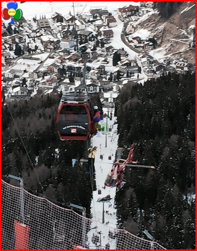 soccorso aiut alpin cabinovia gardena