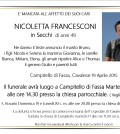 Nicoletta Francesconi in Secchi