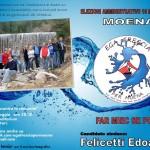 """Lista """"Ega Frescia per Moena"""" candidato sindaco Edoardo Felicetti"""