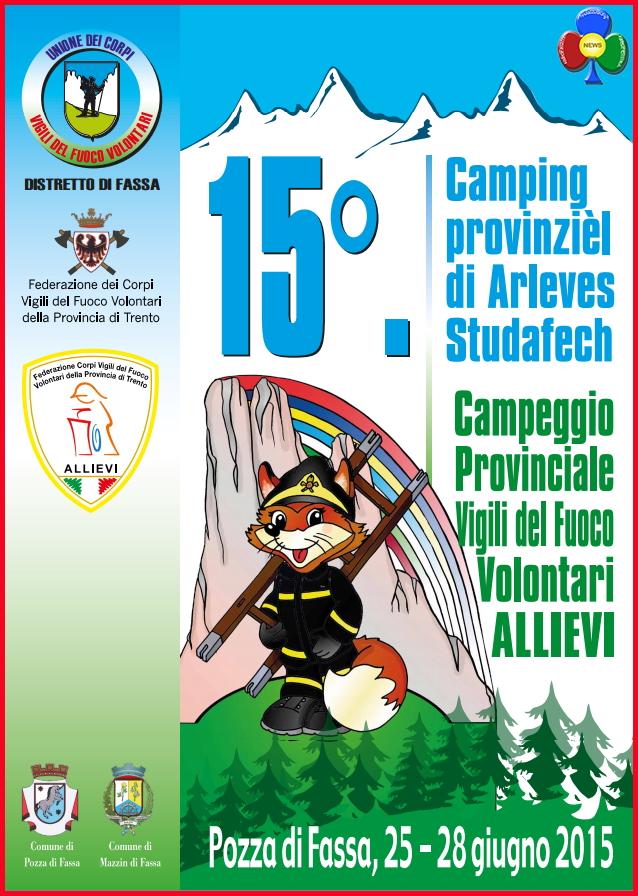 15 campeggio provinciale allievi vigili del fuoco trentino a pozza di fassa