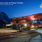 vigili del fuoco, recupero auto passo fedaia8