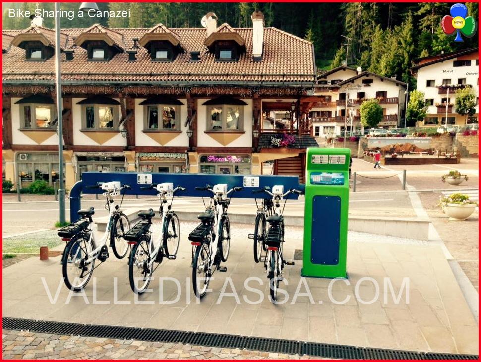 Bike Sharing a Canazei