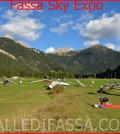 Fassa Sky Expo 2015 atterraggio