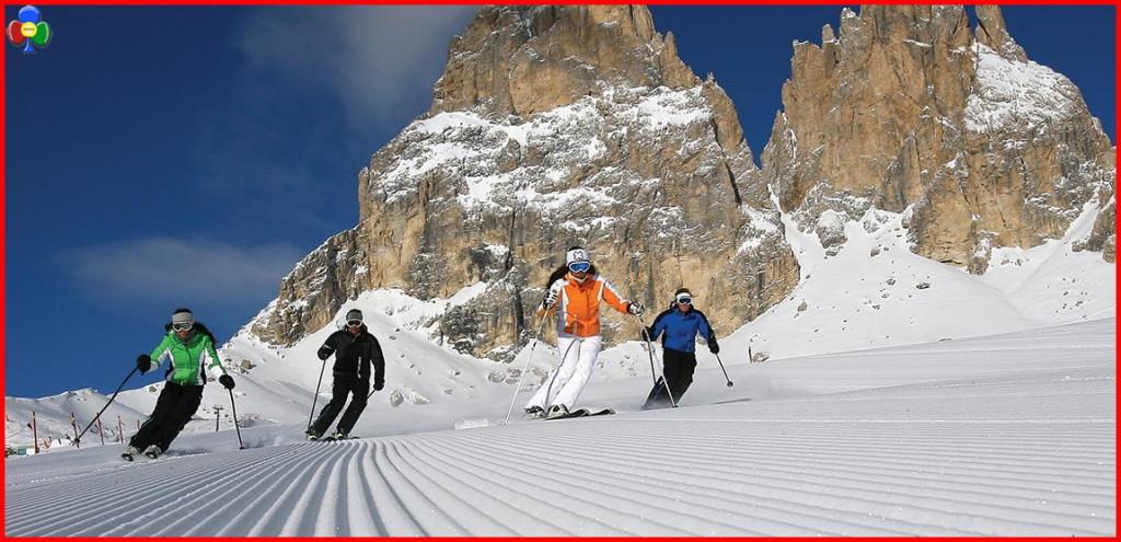 sciare fassa