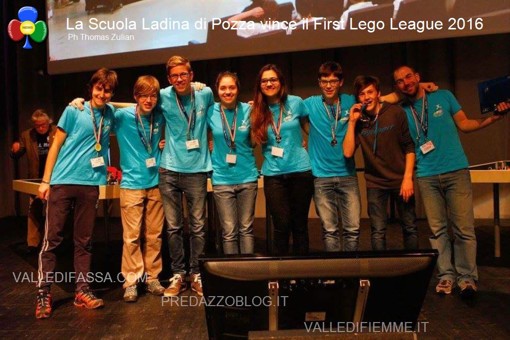 First Lego League 2016 scuola ladina fassa2