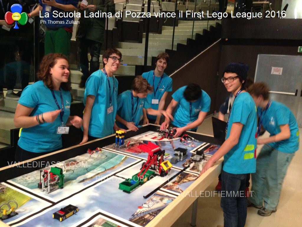 First Lego League 2016 scuola ladina fassa4