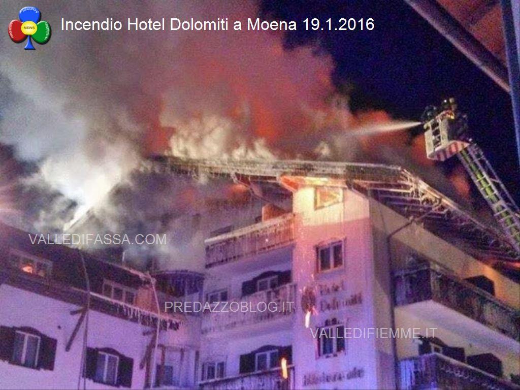 incendio a moena hotel dolomiti 19.1.2016 valledifassacom1