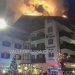 incendio a moena hotel dolomiti 19.1.2016 valledifassacom7
