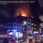 incendio a moena hotel dolomiti 19.1.2016 valledifassacom8