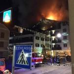 incendio a moena hotel dolomiti 19.1.2016 valledifassacom9