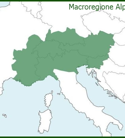 macroregione alpina eusalp