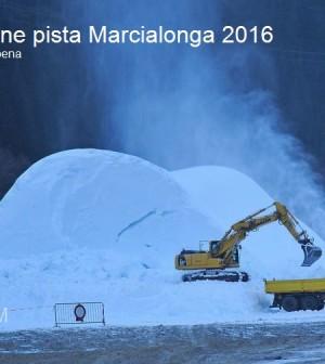 preparazione pista marcialonga 2016 moena16