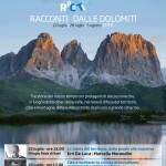 """Con De Luca, Segrè e Badaloni i nuovi """"Racconti dalle Dolomiti"""""""