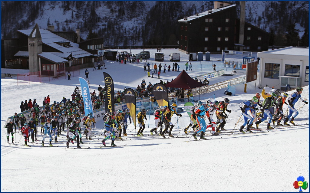 epic ski tour san pellegrino partenza