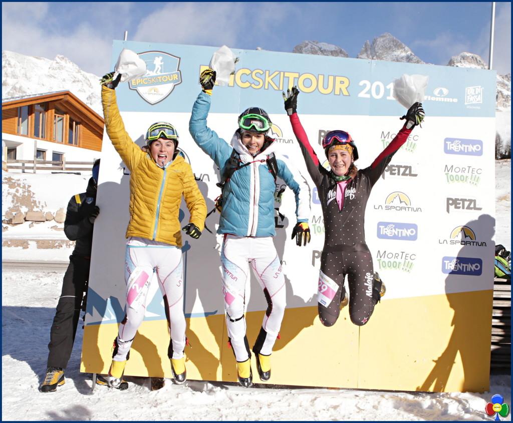 epic ski tour san pellegrino podio femm