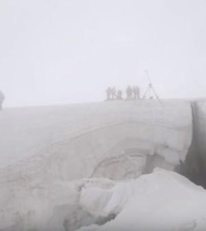 soccorso alpino crepaccio