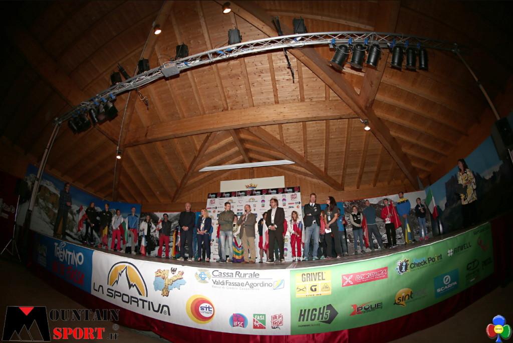 Campionati Europei di Arrampicata a Campitello di Fassa 1