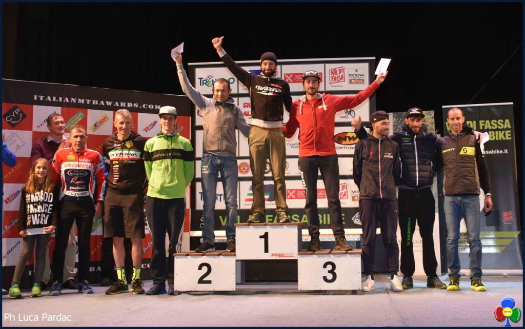 val di fassa bike podio-uomini